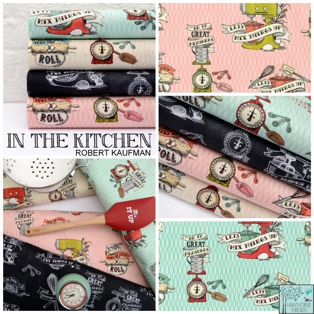 In the Kitchen Fabric Poster
