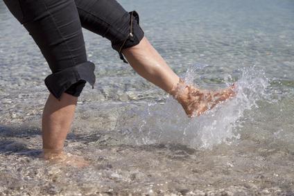 Depositphotosby fineart-foot splashing