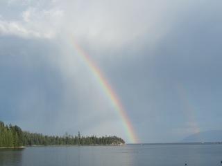 love heart peace-rainbow