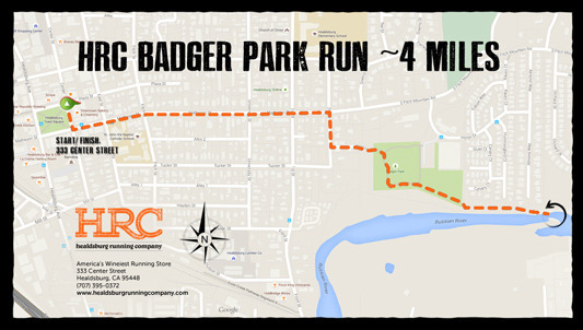 badger park map