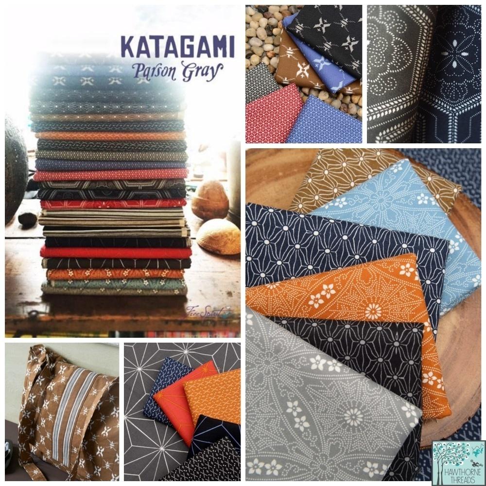 Katagmi Parson Gray Fabric Poster