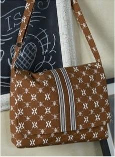 Katagami Fabric Bag