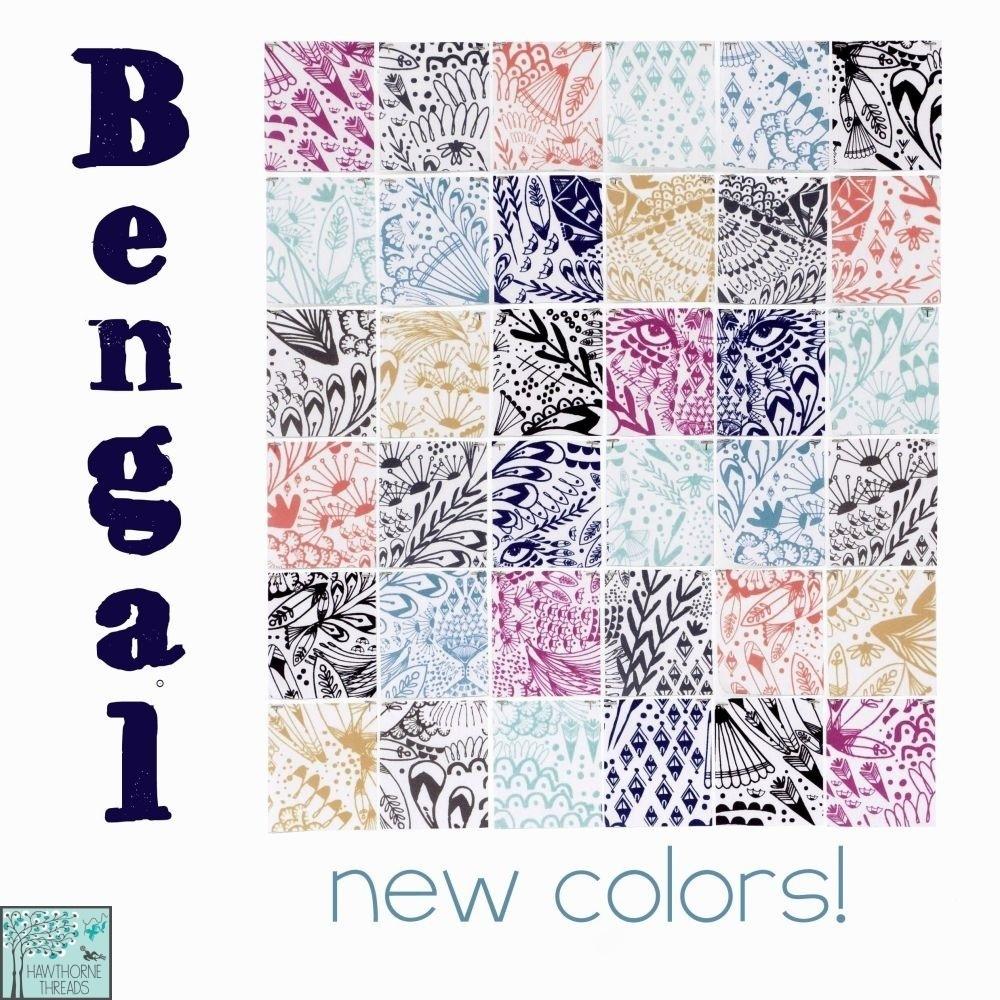 Bengal Fabric Poster