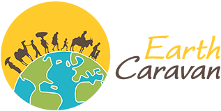 Earth Caravan logo
