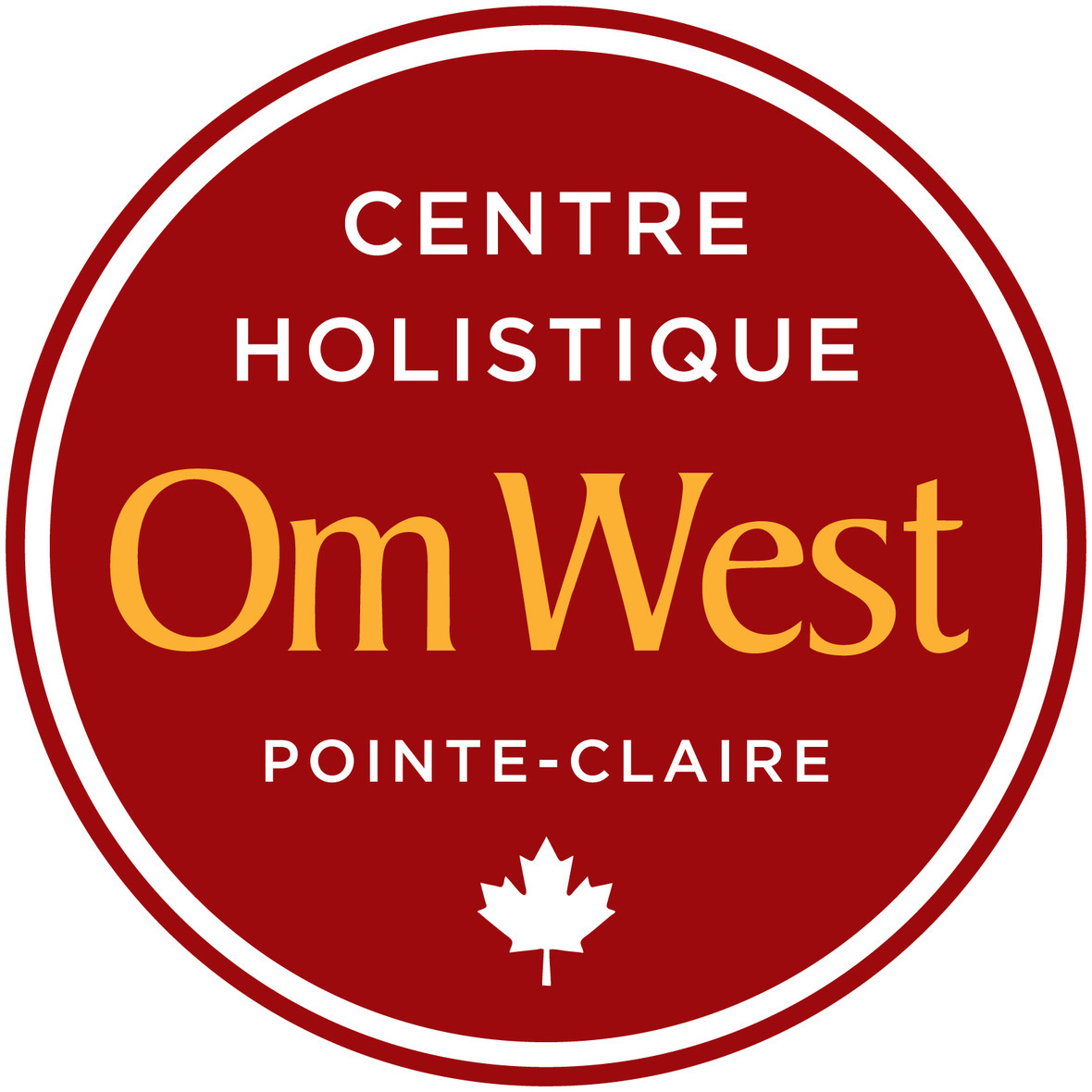 Om West Official logo July