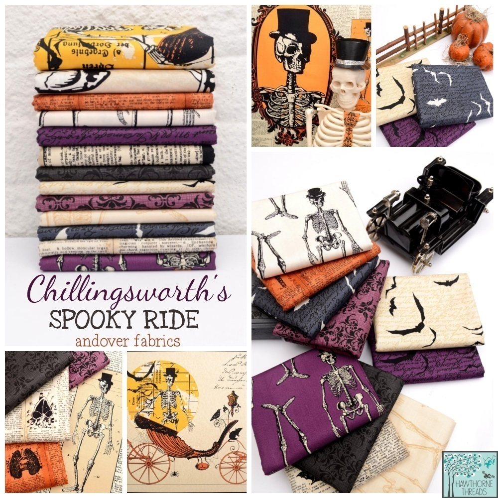 Chillingsworth Spooky Ride Fabric