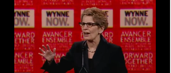 Wynne leadership