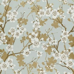 Schumacher-ming-cherry-blossom-aqua-wallpaper