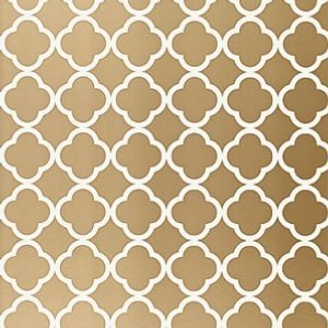 Schumacher-morocco-antique-gold-wallpaper