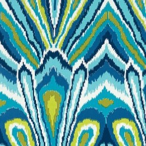 Schumacher-peacock-print-pool-fabric