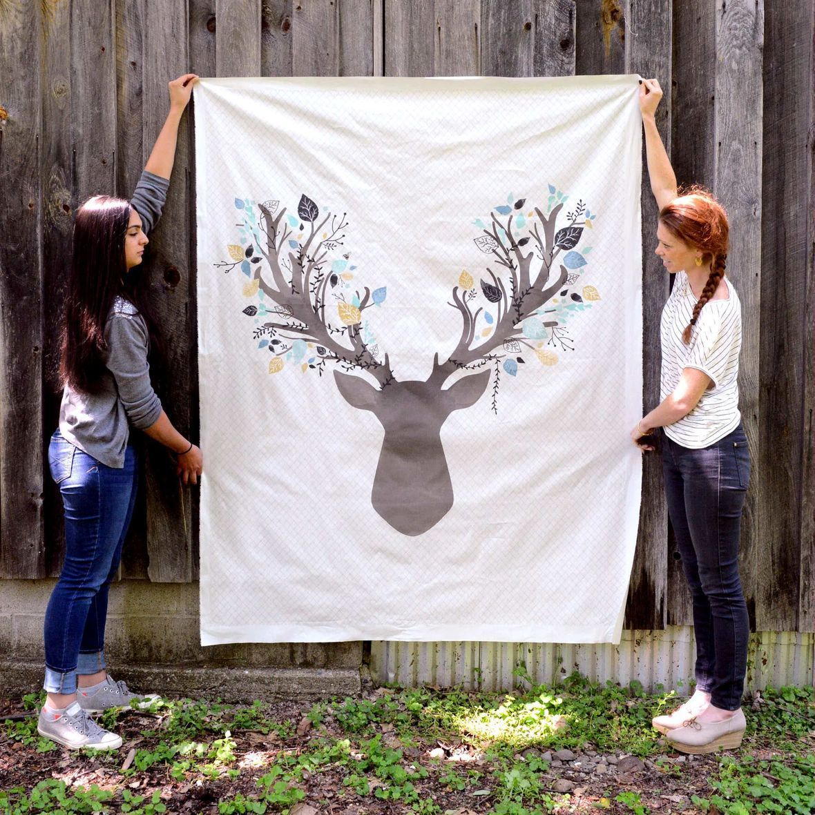 Fawn Quilt Panel
