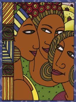Black women colorful