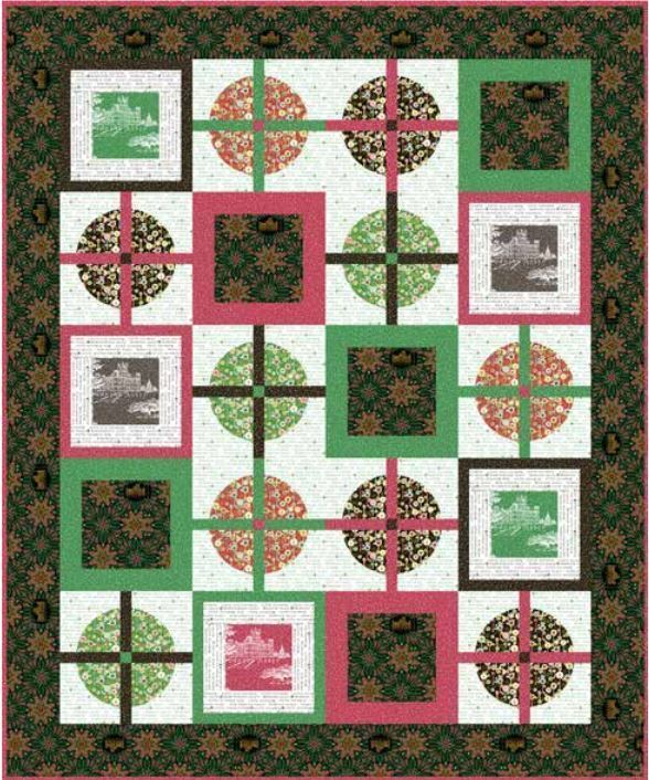 Downton Abbey Christmas Free Andover Pattern
