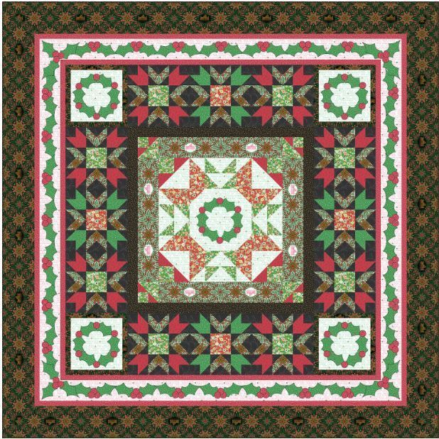 Vintage Christmas Quilt Free Andover Pattern