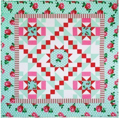 Lucy Quilt Free MM Pattern by Swirly Girl Designs