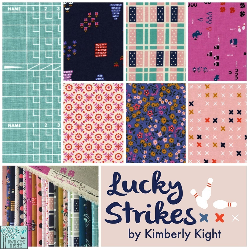 Cotton and Steel Lucky Strikes Fabric Poster Final