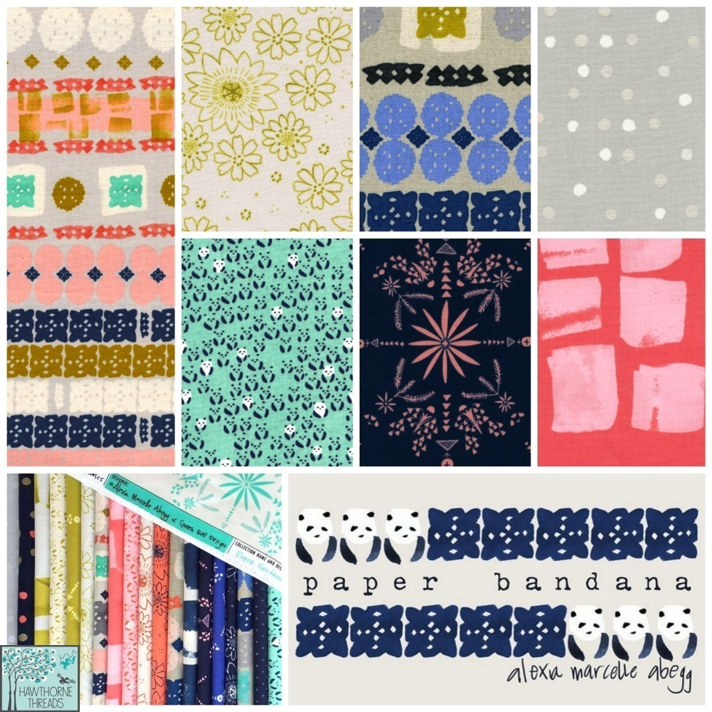 Cotton and Steel Paper Bandana Fabric Poster Final