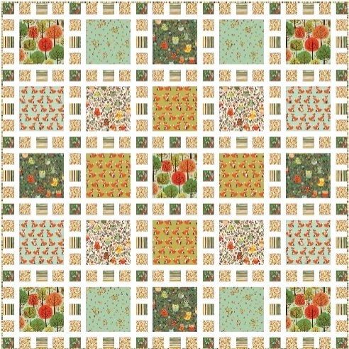 Forest Friends Quilt Pattern FQ Friendly