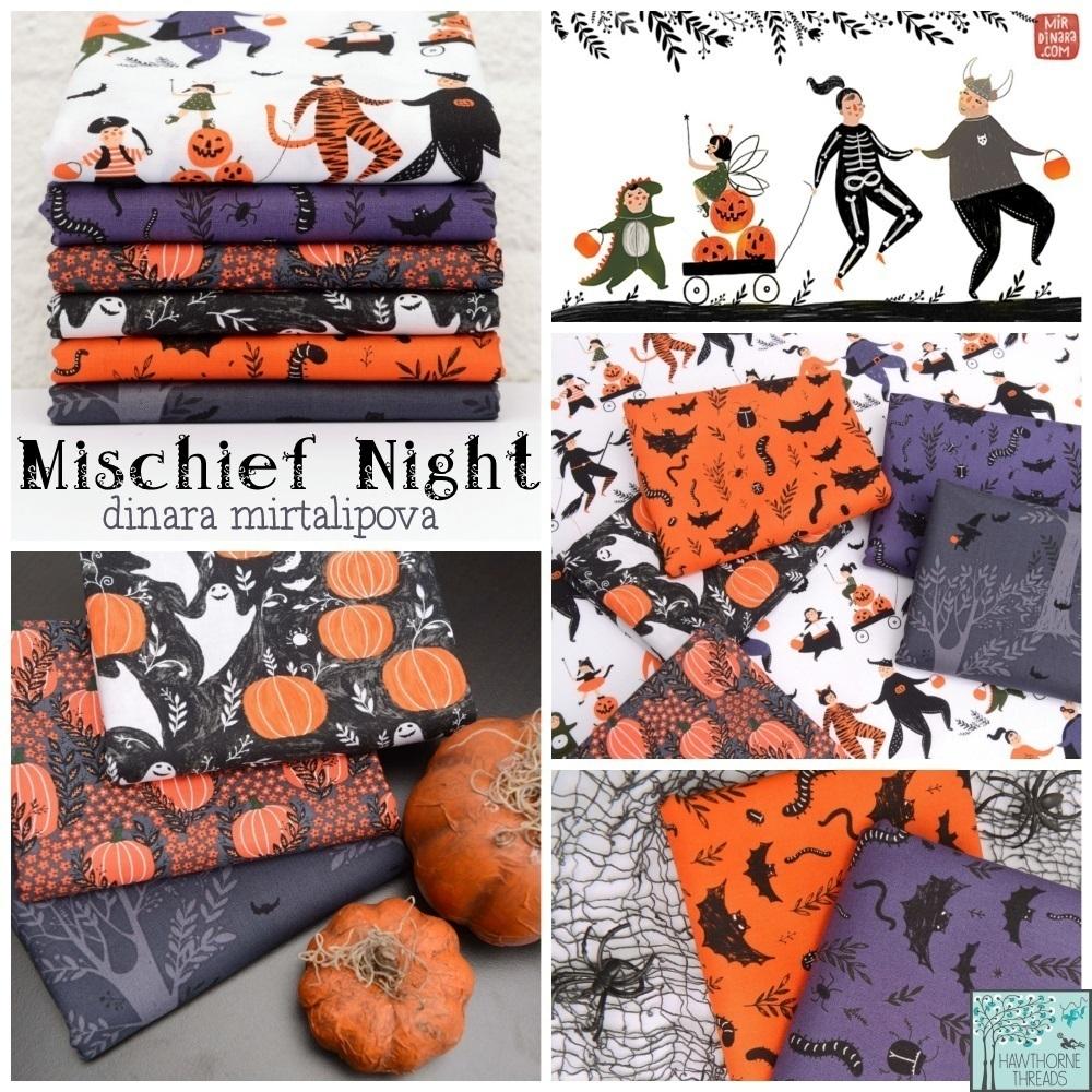 Mischief Night Fabric Poster