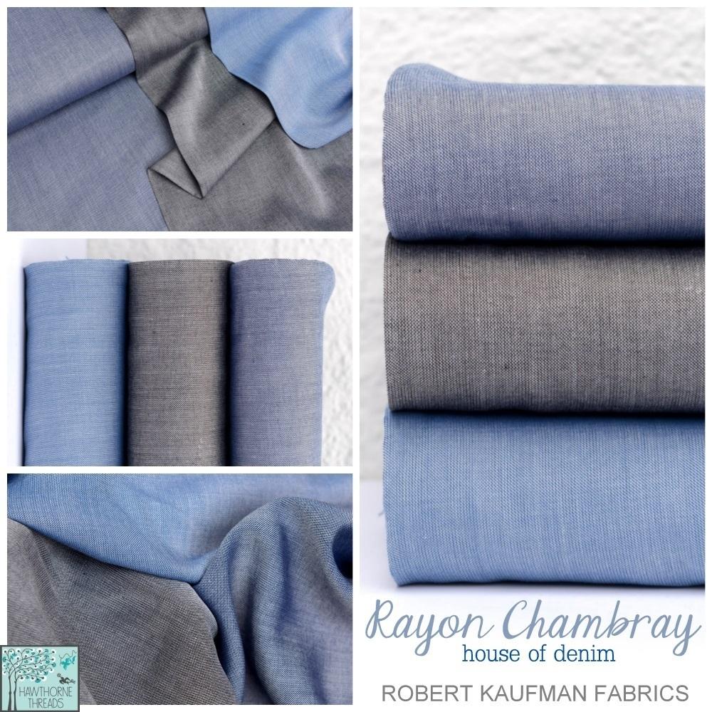 Rayon Chambray Fabric Poster
