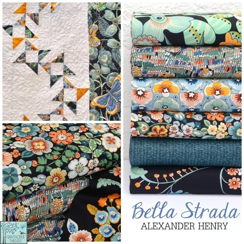 Bella Strada Fabric Poster
