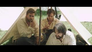 3 guys in tent