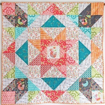 Birds and the Bees Quilt