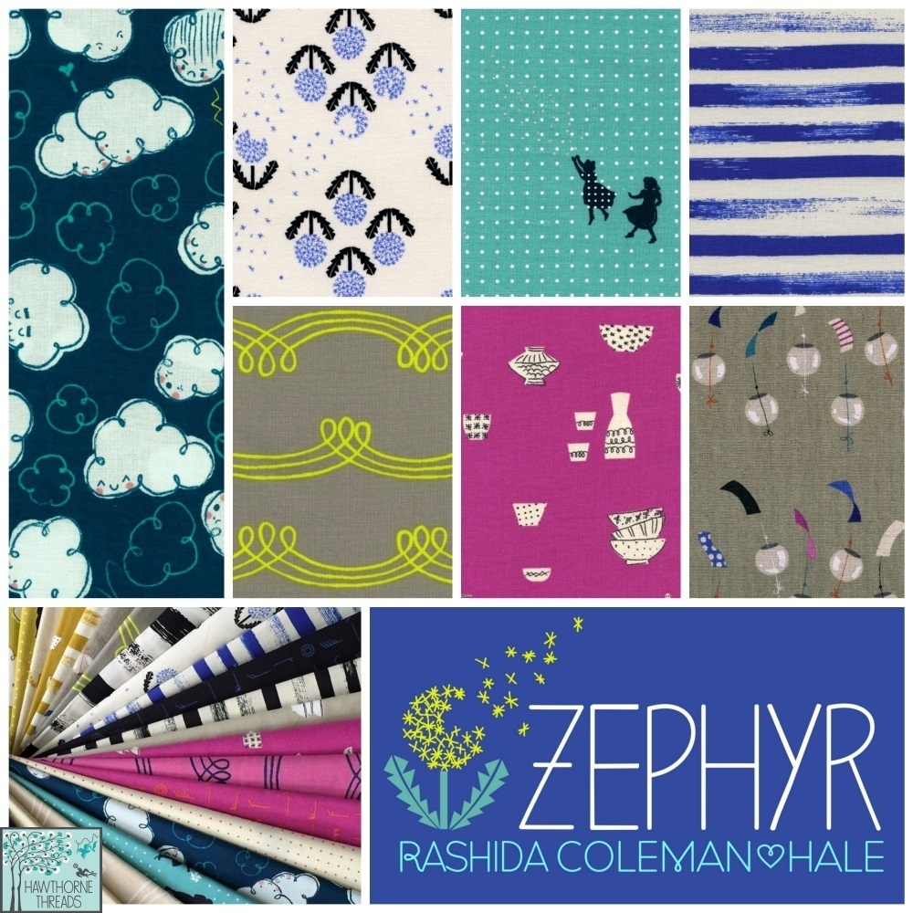 Cotton and Steel Zephyr Fabric Poster Final
