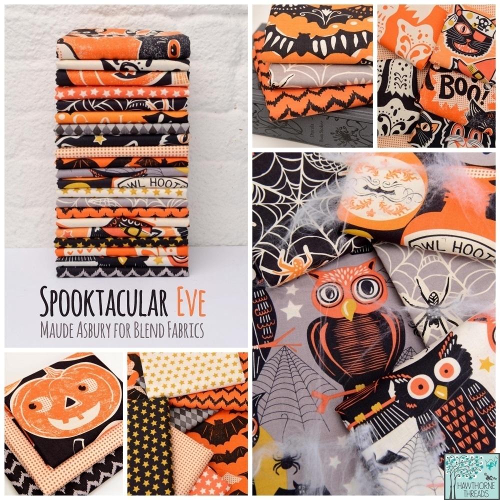 Spooktacular Eve Fabric Poster 2