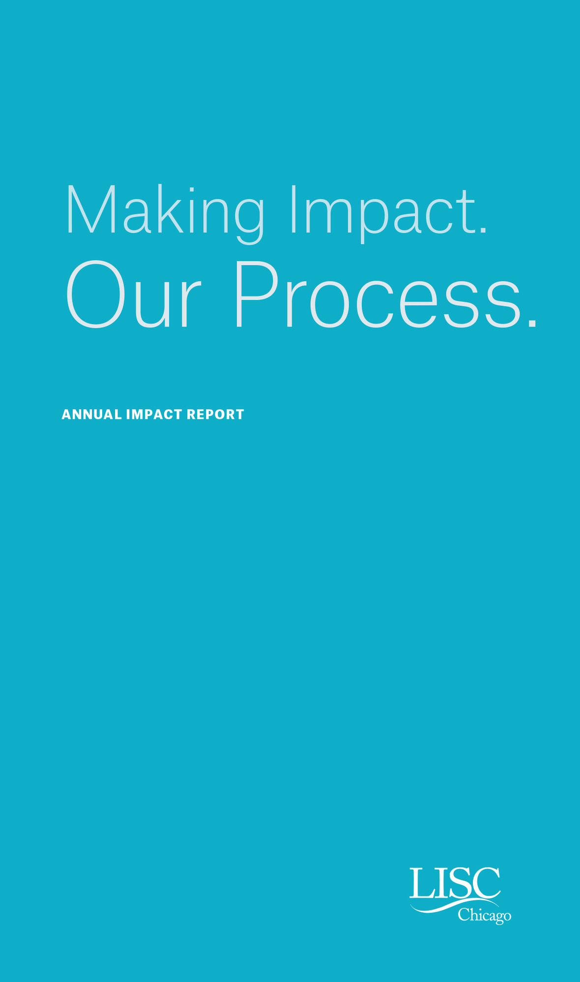 LISC-Impact Report-Cover