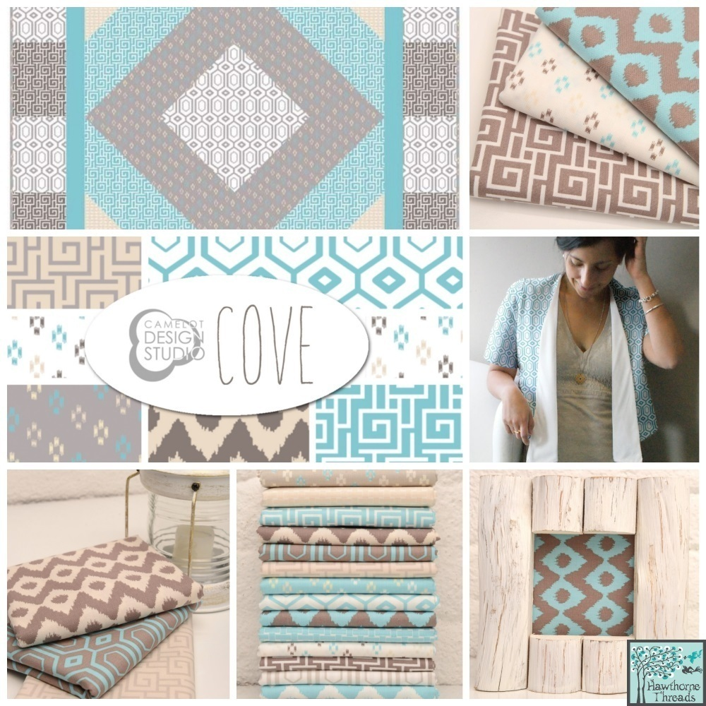 Cove Fabric Poster