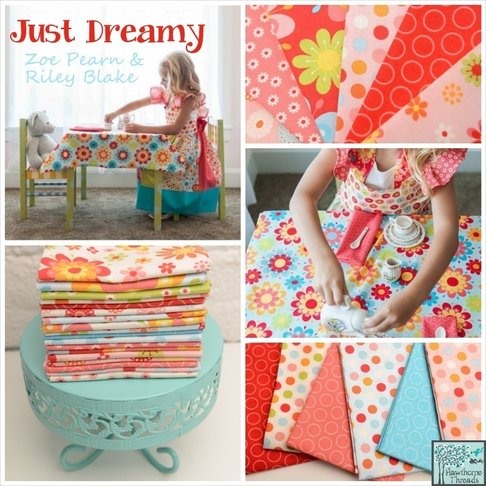 Just Dreamy Fabric poster