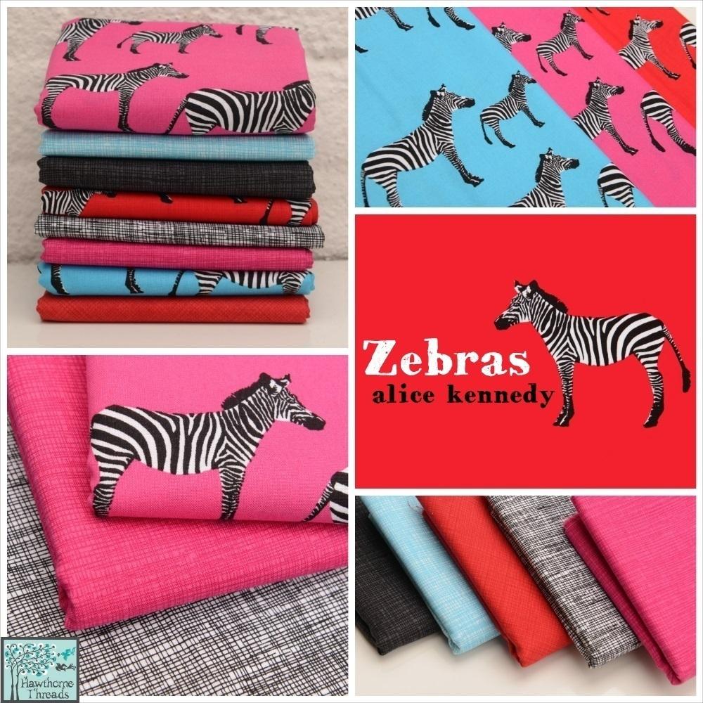 Zebras Fabric poster