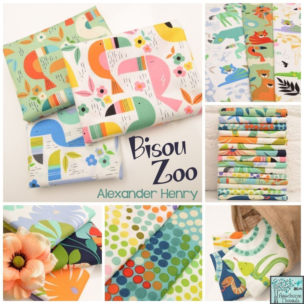 Bisou Zoo Fabric Poster