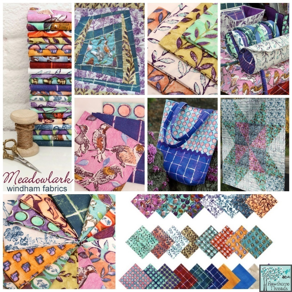 Meadowlarak Fabric Poster