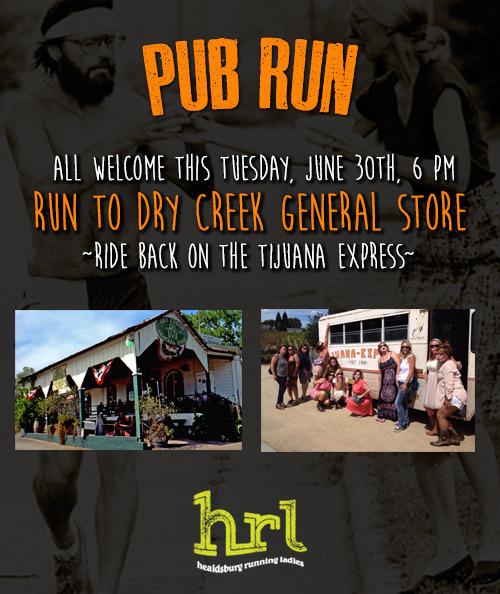 dry creek general store pubrun