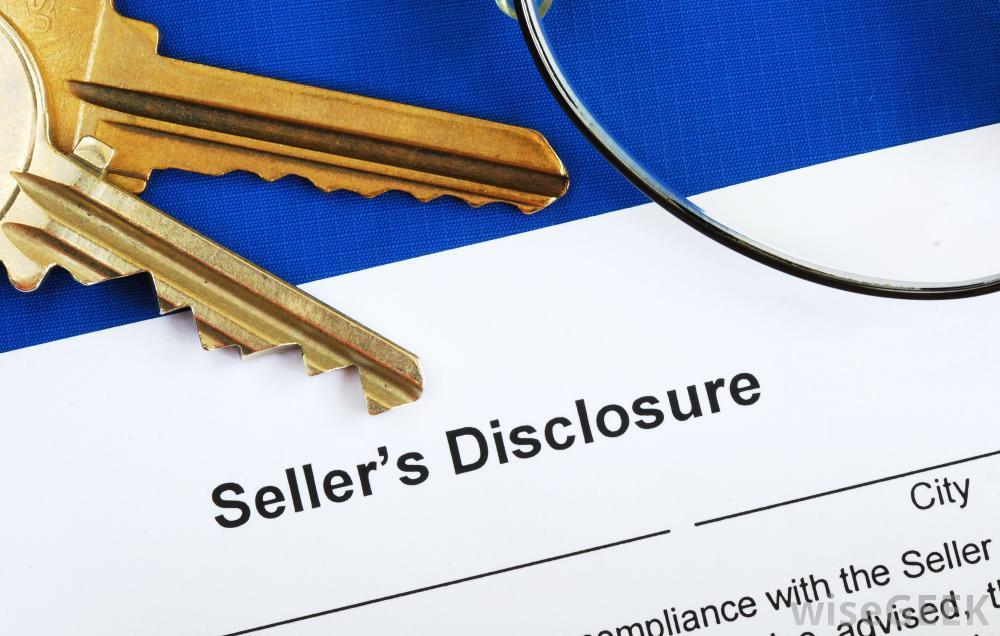 Real-estate-seller-disclosure