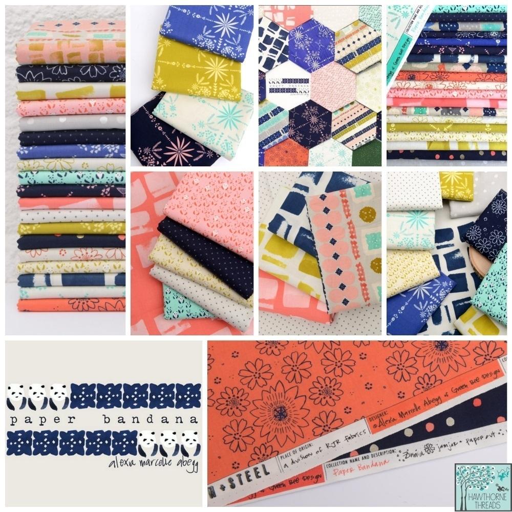 Alexia Abegg Paper Bandana Fabric Poster