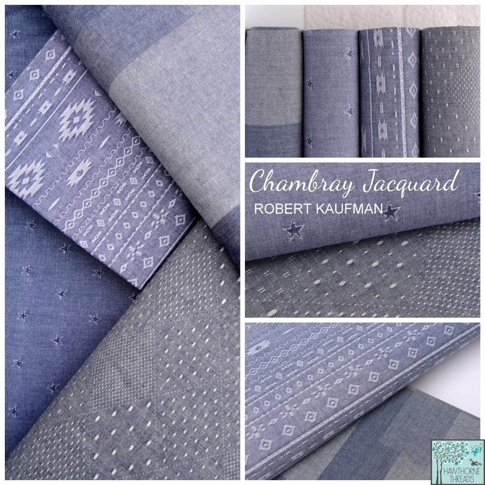 Chambray Jacquard Fabric Poster