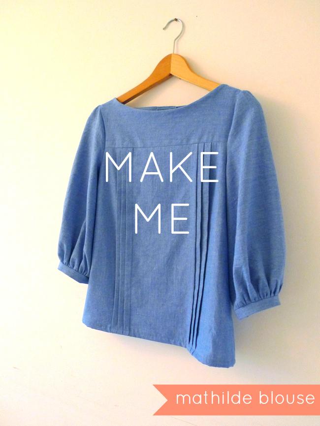 Make Me - mathilde blouse