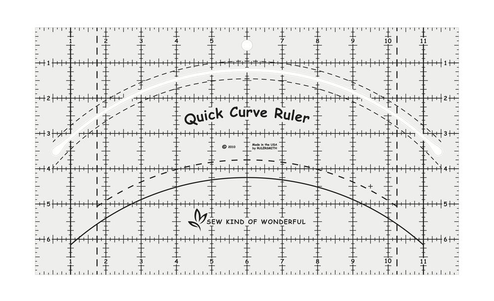 sew kind of wonderful quick curve ruler sewing pattern