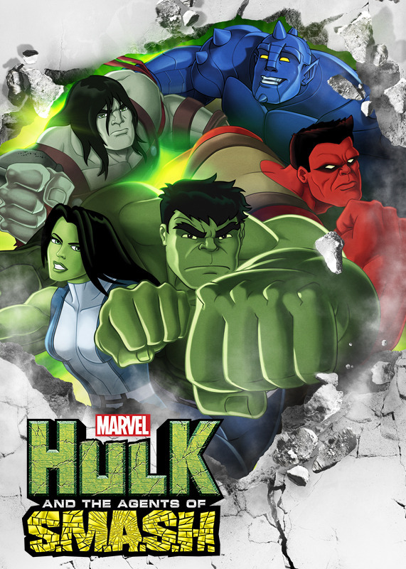 Hulk And The Agents Of S.M.A.S.H. Season 1 Netflix North America Display Art Vertical   Netflix US-CAN English