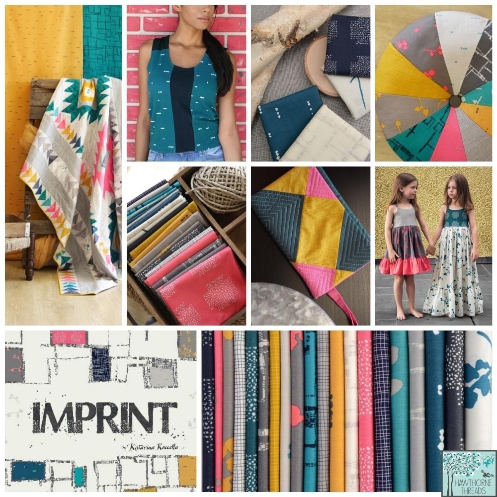 Imprint Fabric Poster