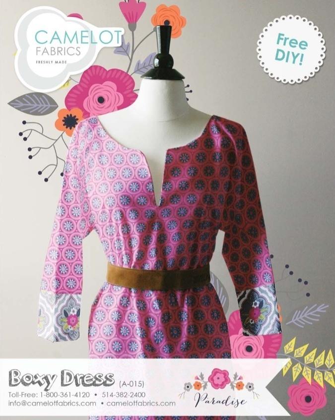 Boxy Dress Free Pattern