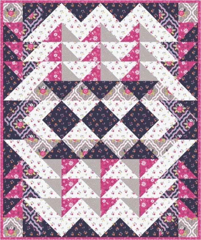 Paradise Fabric Quilt