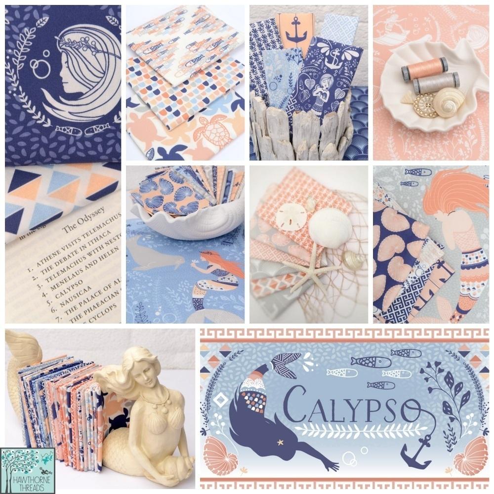 Hawthorne Threads Calypso Fabric Poster