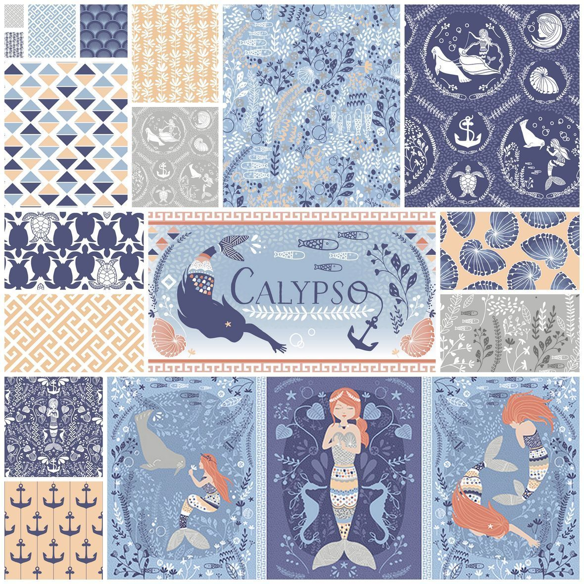 Calypso Palette in Poseidon