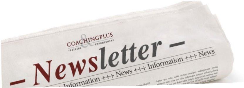 Coachingplus Newsletter 2015
