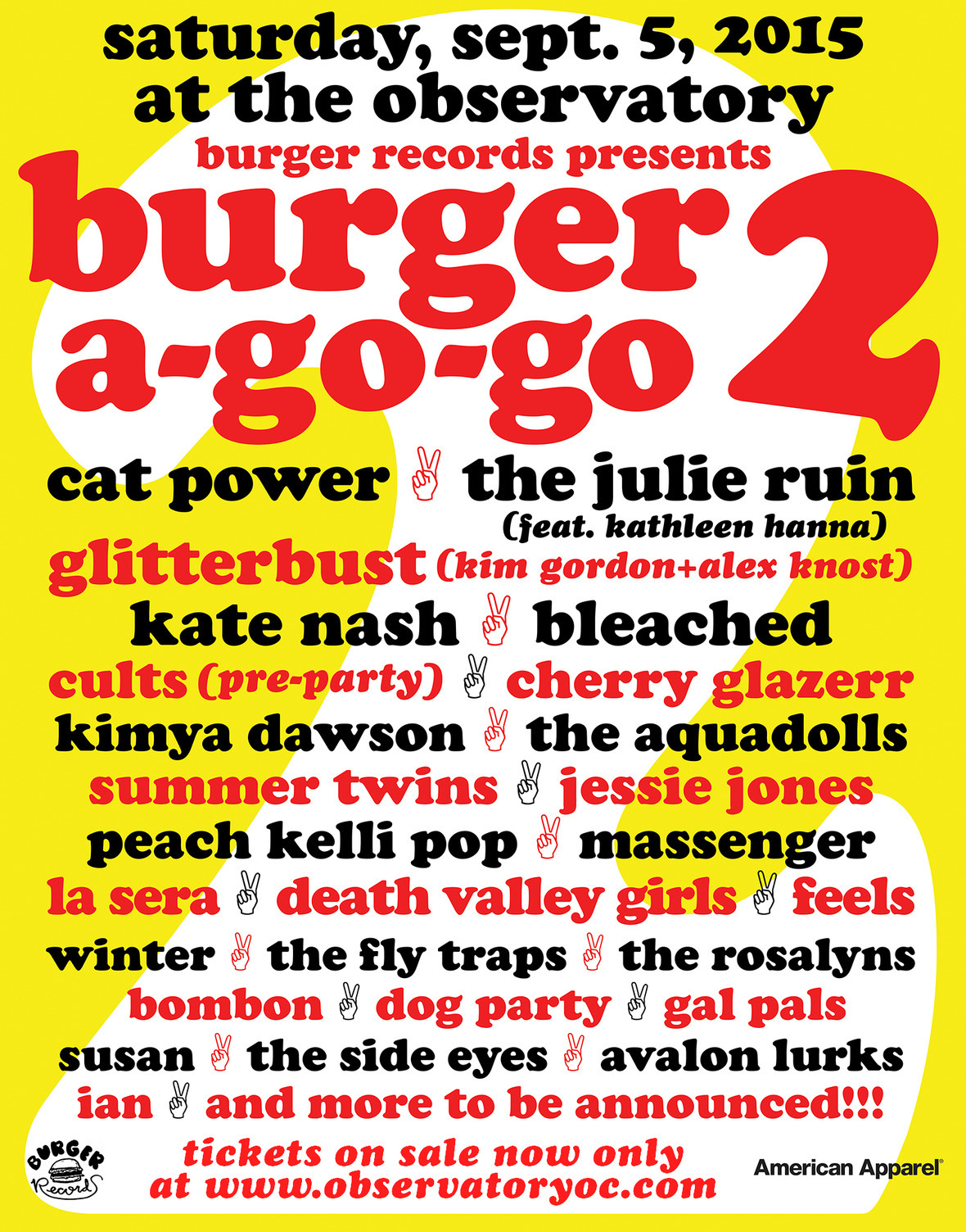 BURGER A GO GO 2 FLYER USE2