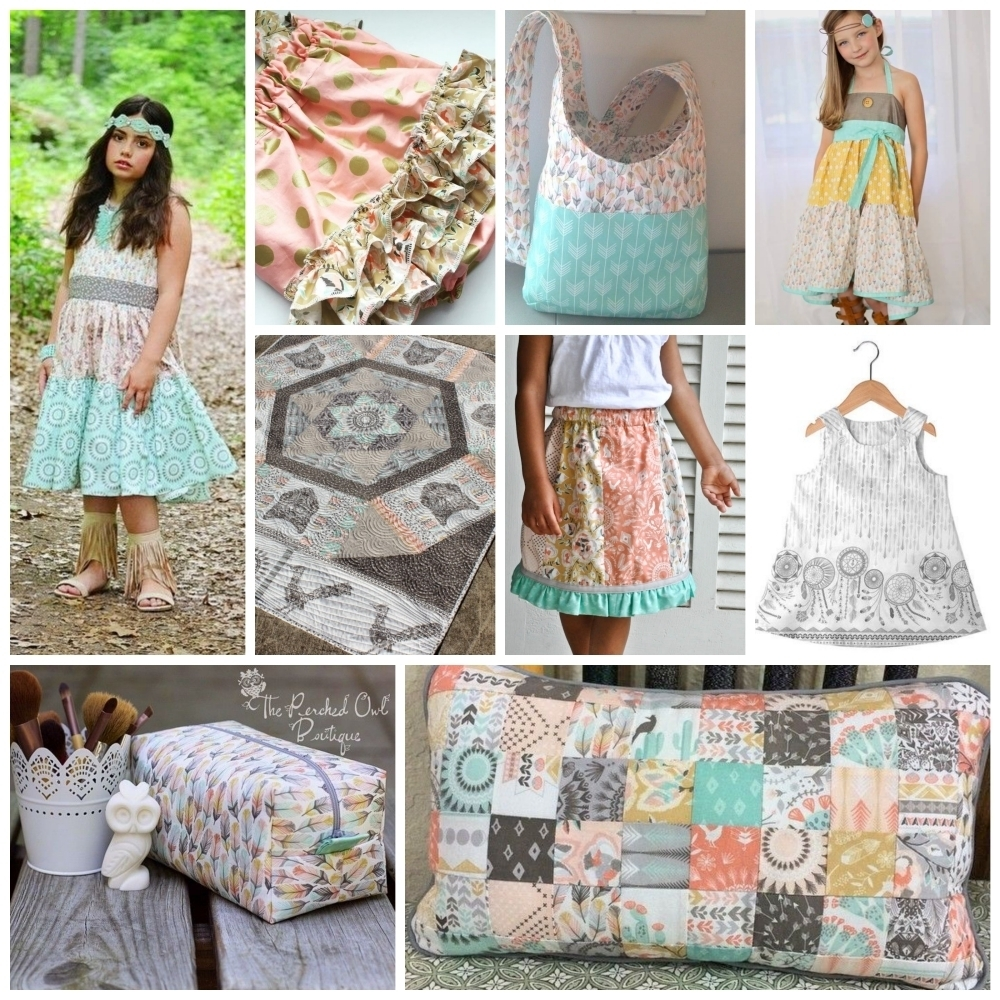 Coyote Fabric Projects 1